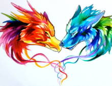 Watercolour Style